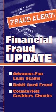 financial fraud update