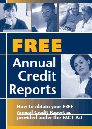 free credit report information