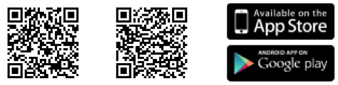 QR code to download app